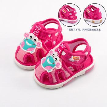 宝宝鞋子春秋0一1-2岁学步鞋防滑软底夏季儿童布凉鞋夏男童女童鞋