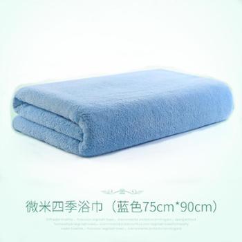 婴儿浴巾新生儿宝宝洗澡比纯棉纱布吸水速干超柔儿童大毛巾被初生