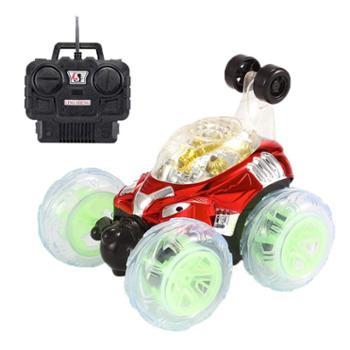 凌盛玩具翻滚特技车翻斗车遥控车越野遥控汽车模充电动赛车儿童玩具车男孩