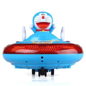 益米 哆啦A梦遥控车 儿童充电电动遥控汽车玩具车飞碟男孩玩具3-6岁