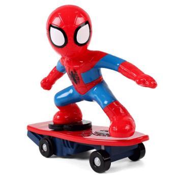 NEWQIDA/新奇达 蜘蛛侠滑板车电动遥控特技车翻滚车儿童玩具男孩