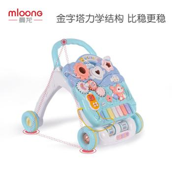 曼龙宝宝学步车婴儿手推车儿童多功能助步车防侧翻6-7-18个月1岁