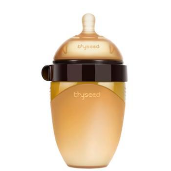 世喜 戒奶断奶神器全硅胶婴儿仿母乳宽口径宝宝厌奶奶瓶防胀气超软