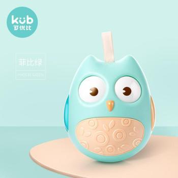 KUB/可优比 不倒翁玩具0-3-6-12个月宝宝音乐早教 0-1岁婴儿安抚玩具