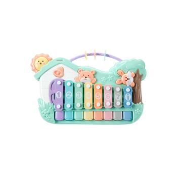 KUB/可优比 敲琴八音琴儿童手敲琴宝宝 益智早教婴儿敲打音乐玩具