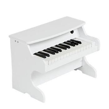 Happytime/快乐年华 儿童钢琴木质电子琴初学小男女孩宝宝音乐玩具迷你