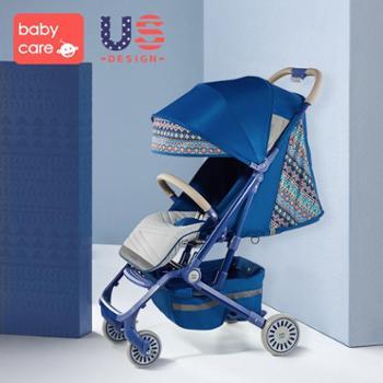 BABYCARE BY PHILEMON 婴儿车可坐可躺折叠 超轻便宝宝小伞车便携式儿童手推车