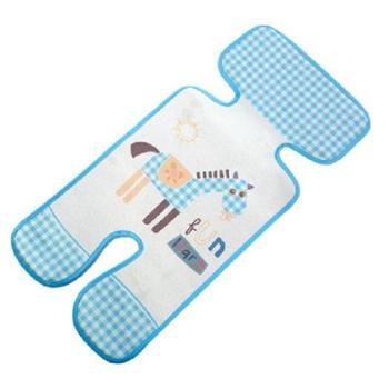 百爱 婴儿推车凉席伞车通用夏季透气新生儿儿童宝宝冰丝垫座椅可水洗