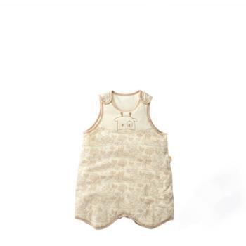 童泰新款婴幼儿睡袋初生宝宝床品用品秋冬季无袖小睡袋