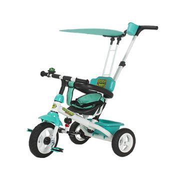 金冠 儿童三轮车宝宝脚踏车婴儿手推车幼儿自行车小孩童车1-3-6岁