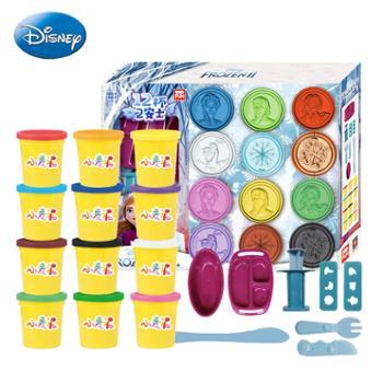 Disney/迪士尼 儿童彩泥橡皮泥打印泥粘土小麦泥模具套装益智玩具手工泥