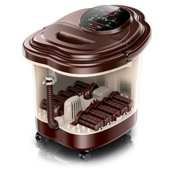 足浴盆全自动按摩洗脚盆电动加热泡脚机脚动深桶小型家用足疗器机生活用品家用电器