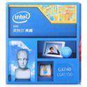 英特尔(Intel) 奔腾双核G3240 Haswell全新架构盒装CPU (LGA1150/3.1GHz/3M三级缓存/53W/22纳米)