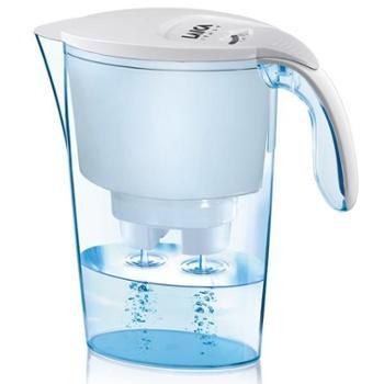 意大利品牌莱卡(LAICA)净水器J703双导流净水壶2.3L(白色)