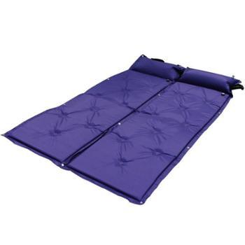 鹰派户外自动充气垫单人可拼接防潮垫加厚宽帐篷露营午休防潮垫