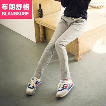 布朗舒格春秋小脚运动裤女卫裤显瘦休闲女裤长裤潮K2909