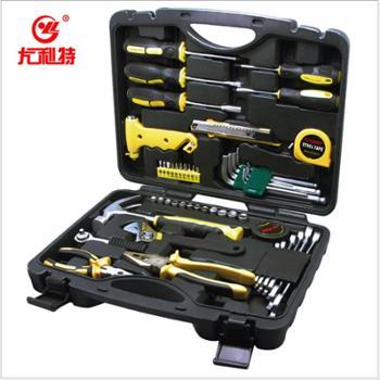 尤利特汽车塑料工具箱应急组合套装自驾维修工具箱YD-049