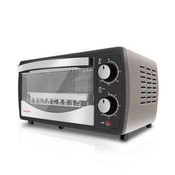 伊欧文 电烤箱F-EO12电烤箱家用烘焙多功能独立控温12L烤叉烧烤