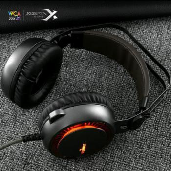 西伯利亚K11电脑吃鸡7.1耳机头戴式台式通用电竞游戏耳麦重低音