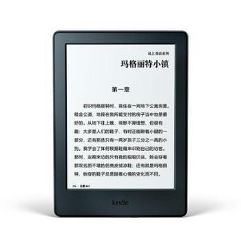 Kindle亚马逊电子书阅读器电纸书入门版6英寸wifi黑色