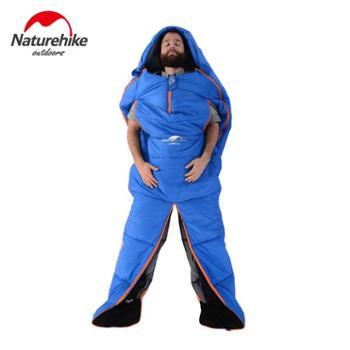 NH 山脉人形睡袋 户外露营室内午休成人睡袋 保暖四季棉睡袋