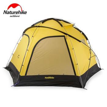 NH挪客 云洞超大4-8人帐篷天幕 户外野营团体露营装备六角大帐篷