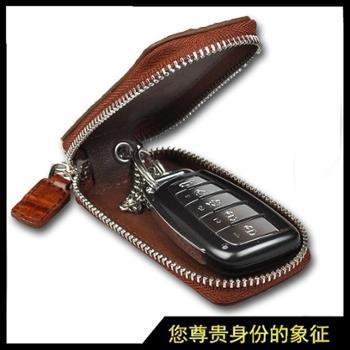鳄鱼皮汽车钥匙包大容量汽车钥匙包真皮钥匙包工厂直销