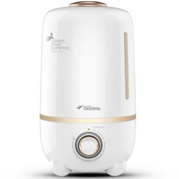 德尔玛加湿器家用卧室大容量办公室增湿器静音迷你空调空气香薰机