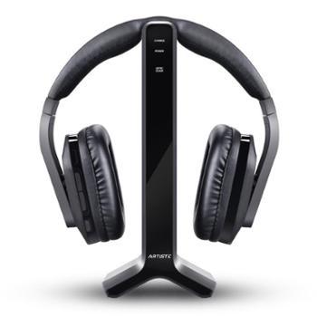 ARTISTE D1 电视用无线耳机2.4G头戴式电脑游戏音乐家用老人看电视大声通用