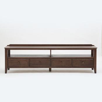 日默瓦 现代美式客厅电视柜 进口红橡木电视柜 储物柜客厅MG17