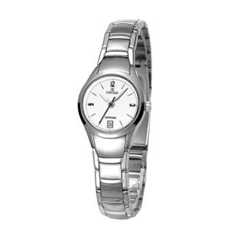 依波表手表女正装系列圆形钢带防水石英女表02386447