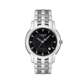 天梭手表TISSOT-宝环系列都市男装腕表T97.1.483.51机械男表