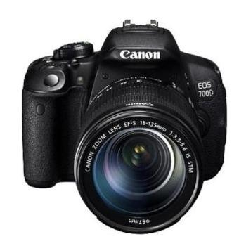 佳能(Canon)EOS700D单反套机(EF-S18-55mmf/3.5-5.6ISSTM镜头)