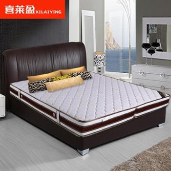 折叠床垫弹簧席梦思床垫分体式针织绣花六环大口径济南厂家直销