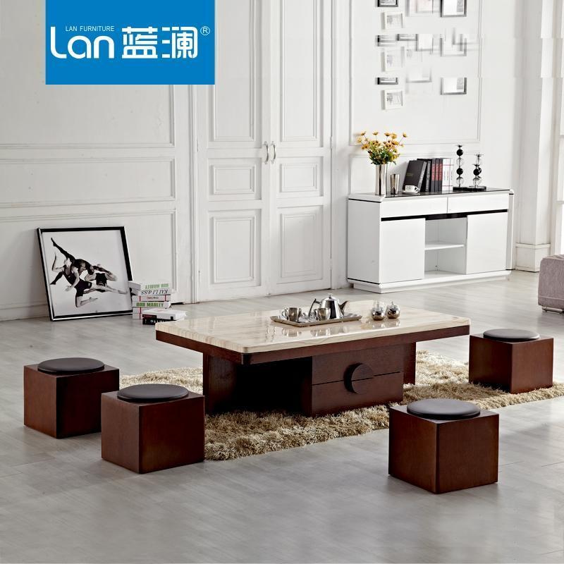 简约欧式创意实木茶几功夫茶桌椅