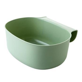 厨房橱柜门挂式大号垃圾桶杂物筒(2个)