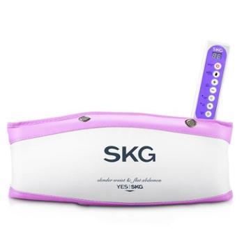 SKG 4002瘦身腰带燃脂甩脂机减肚子腹部震动仪器材 美体细腰瘦腿