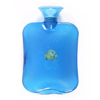 逸活热水袋加厚PVC暖手袋大号防爆冲注水充注水透明加厚暖手宝