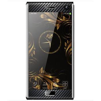 詹姆士R19 plus全网通4G高端商务智能手机 双卡6GB+128GB 蓝宝石屏 银色商务版 小牛皮