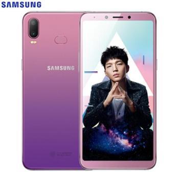 【正品国行、现货当天发】三星A6s(SM-G6200)全面屏渐变色性价比智能手机全网通4G双卡双待