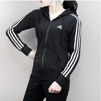 Adidas阿迪达斯女装2018春季新款运动服休闲保暖夹克外套S97065
