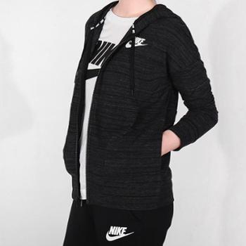 NIKE耐克2018年新款女子运动休闲跑步针织夹克853977-010