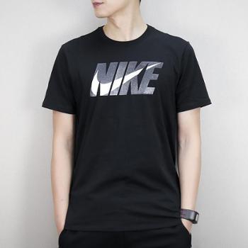 耐克NIKE男短袖夏季新款纯棉休闲运动透气T恤911925