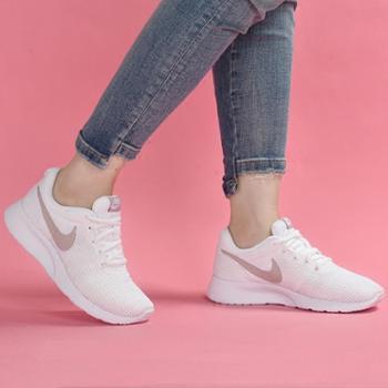 耐克女鞋男鞋2018RosheRun网面透气轻便运动鞋跑步鞋812655-102