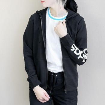 Adidas阿迪达斯女装运动训练针织夹克外套S97076S
