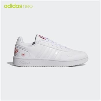adidas阿迪达斯NEO女子低帮轻便运动休闲鞋板鞋EE6502