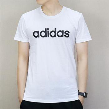 adidas阿迪达斯neo男子运动休闲短袖T恤DM4284DM4285
