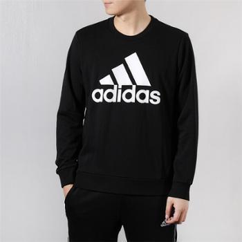 Adidas阿迪达斯卫衣男装秋季圆领运动休闲套头衫DT9941