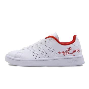 Adidas阿迪达斯女鞋小白鞋运动鞋时尚休闲板鞋EE6643