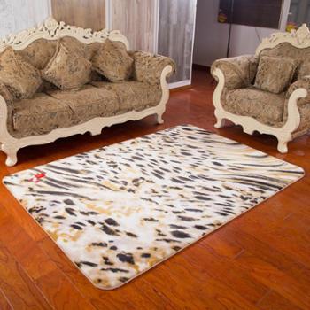 鸣球客厅地毯弹力丝毛地毯婚庆兽皮地毯沙发床边满铺卧室茶几地毯